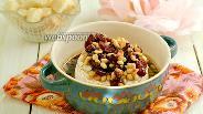 Фото рецепта Сыр Бри, запечённый с клюквой и кедровыми орешками