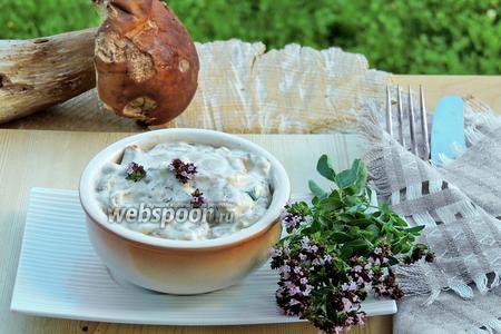 Рагу из белых грибов
