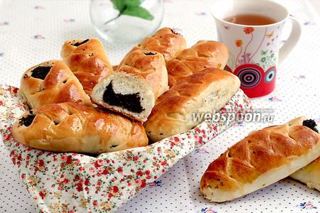 Пирожки с маком печёные