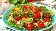 Фото рецепта Летний овощной салат с физалисом