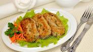 Фото рецепта Крокеты из тунца с цукини