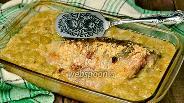 Фото рецепта Рыба, тушёная с виноградом