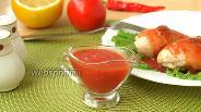 Фото рецепта Томатно-апельсиновый соус