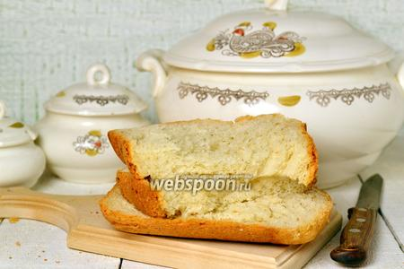 Чесночный хлеб с укропом в хлебопечке