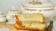 Фото рецепта Чесночный хлеб с укропом в хлебопечке