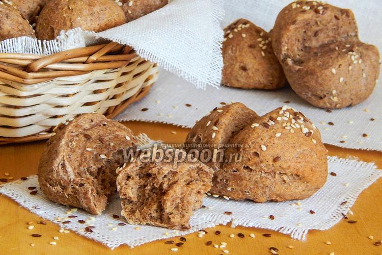 Фото Пшенично-ржаные булочки