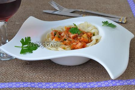 Тальолини с соусом «Матричан»