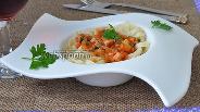 Фото рецепта Тальолини с соусом «Матричан»