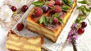 Фото рецепта «Леопардовая» кофейно-ванильная творожная запеканка