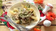 Фото рецепта Картофель, запечённый с курицей
