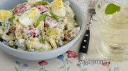 Фото рецепта Летний салат с кукурузой