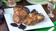 Фото рецепта Свиные рёбрышки на минералке с базиликом