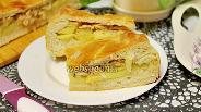 Фото рецепта Дрожжевой пирог с горбушей