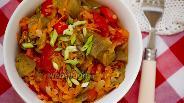 Фото рецепта Соте из печёных овощей