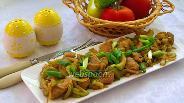 Фото рецепта Свинина с кабачком