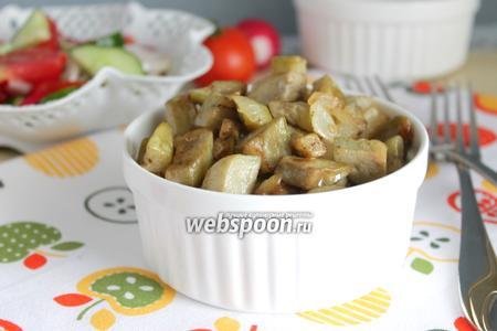 Грибная закуска из баклажан