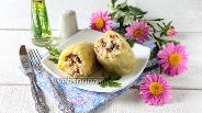 Фото рецепта Перец фаршированный грибами и курицей в мультиварке