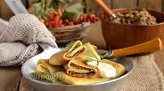 Фото рецепта Налистники с паштетом из лесных грибов
