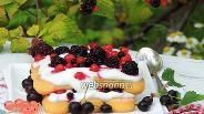 Фото рецепта Филадельфия-Тирамису с лесными ягодами