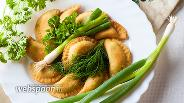 Фото рецепта Пирожки с луком по-гречески