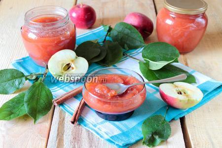 Варенье яблочное в мультиварке с восточным ароматом