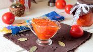 Фото рецепта Томатный соус для спагетти на зиму