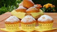 Фото рецепта Бананово-лимонные капкейки