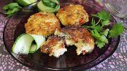 Фото рецепта Куриные котлеты с сыром и помидорами