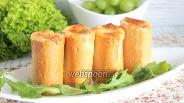 Фото рецепта Хлебные бочонки с курицей