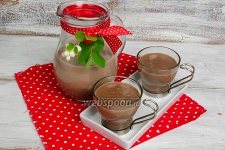 Кисель молочный с какао
