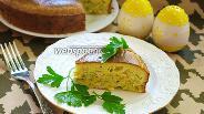 Фото рецепта Капустный пирог с курицей
