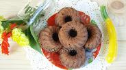 Фото рецепта Шоколадные маффины с кабачком