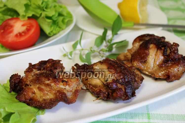 Фото Куриное мясо в винном маринаде