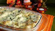 Фото рецепта Лазанья овощная с рыбой