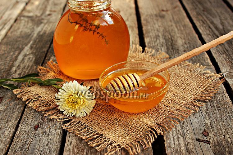 Фото Мёд ароматизированный тимьяном