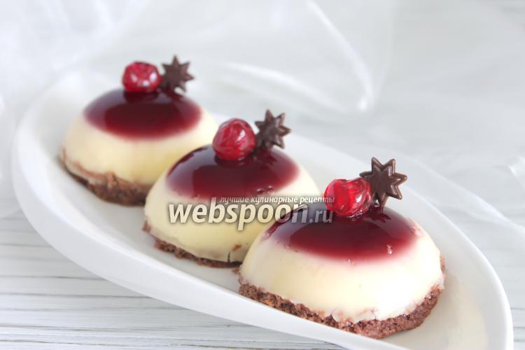 Фото Вишнёвый десерт