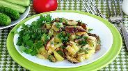 Фото рецепта Картофель, запечённый с боровиками, по-русски