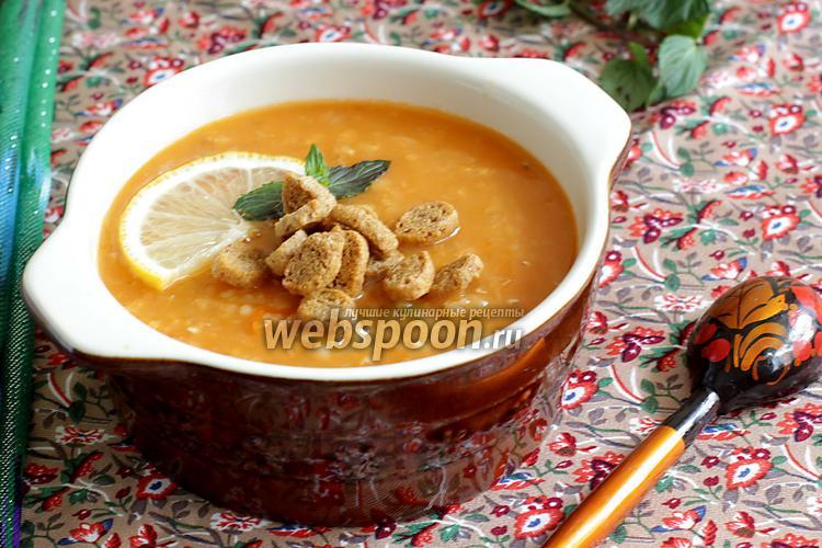 Фото Чечевичный суп по-турецки