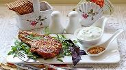 Фото рецепта Свиная корейка на кости гриль