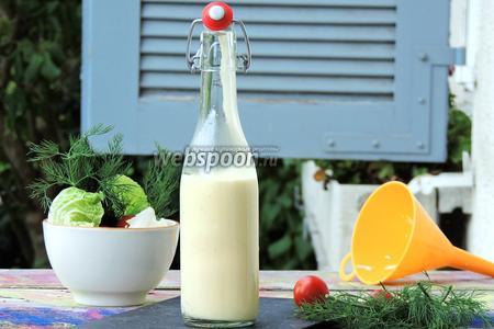 Соус для салата «Цезарь»