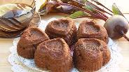 Фото рецепта Свекольные маффины с шоколадом
