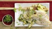 Фото рецепта Куриная грудка на гриле с цукини и артишоками