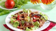 Фото рецепта Салат со свининой Терияки