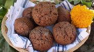 Фото рецепта Шоколадные маффины из блинной муки