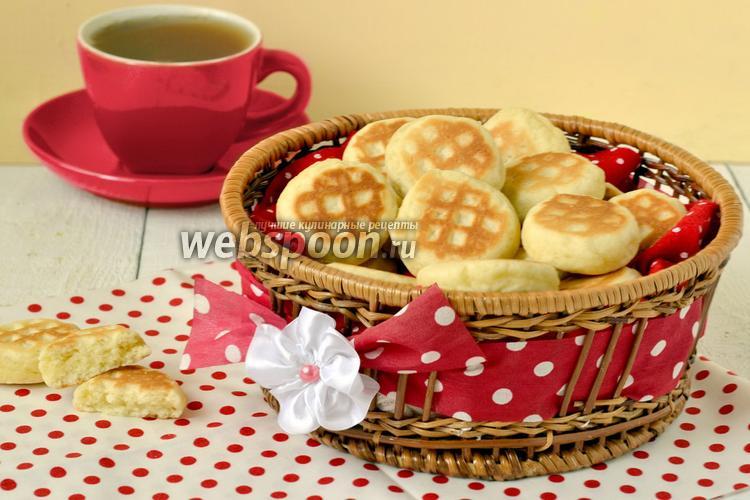 Фото Печенье на сковороде