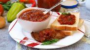 Фото рецепта Острый томатный соус к мясу