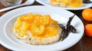 Фото рецепта Куриные медальоны с ананасом и кумкватами