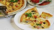 Фото рецепта Белая пицца