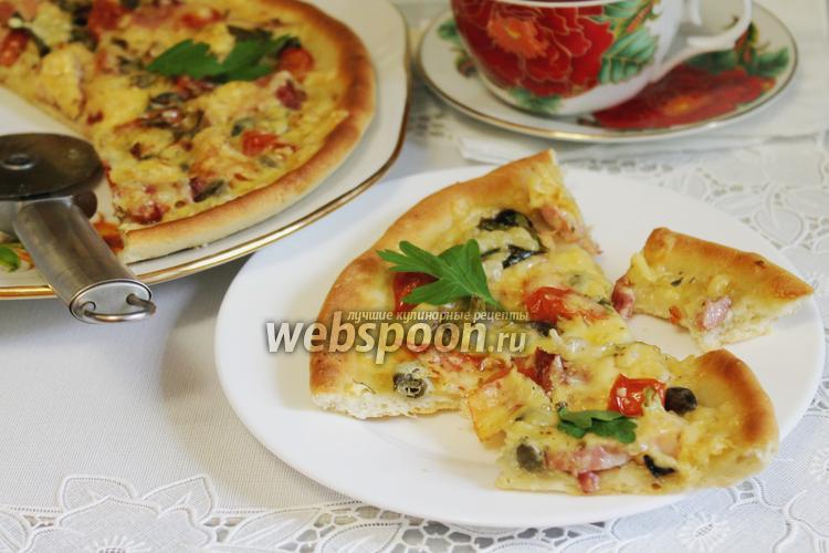 Фото Белая пицца