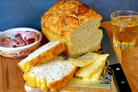 Хлеб на пиве со сливочным маслом